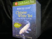 Weisser Tee, ganze Bl�tter, Uncle Lee´s Tea, 18 Btl, 32,4g